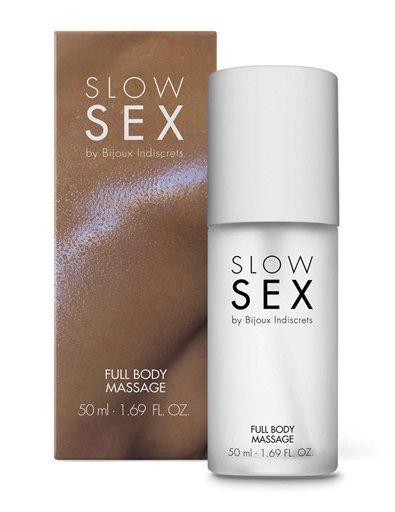 Массажный гель Slow Sex Full Body Massage - 50 мл.-2747