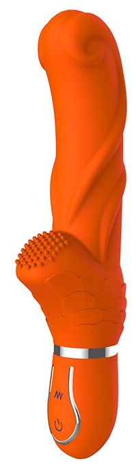 Оранжевый вибратор ORANGE PERFECTION - 22 см.-190