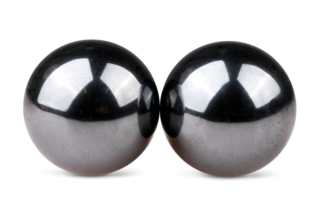 Темно-серые вагинальные шарики без сцепки Ben Wa Balls-2847