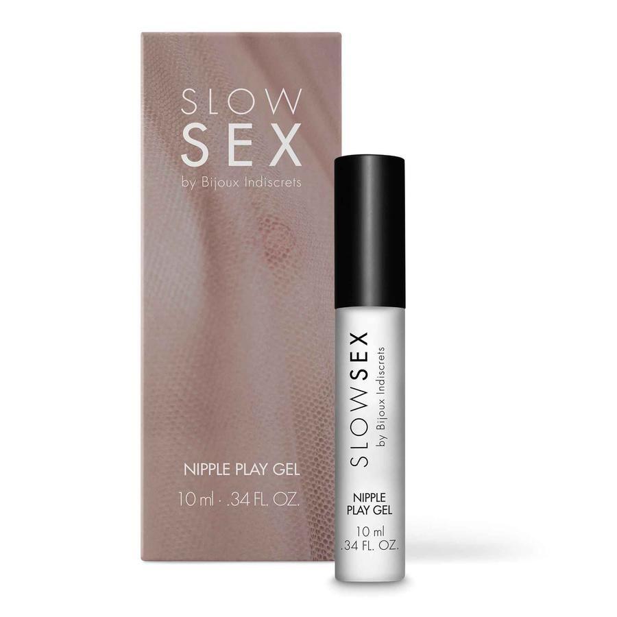 Возбуждающий гель для сосков Slow Sex Nipple Play Gel - 10 мл.-2746