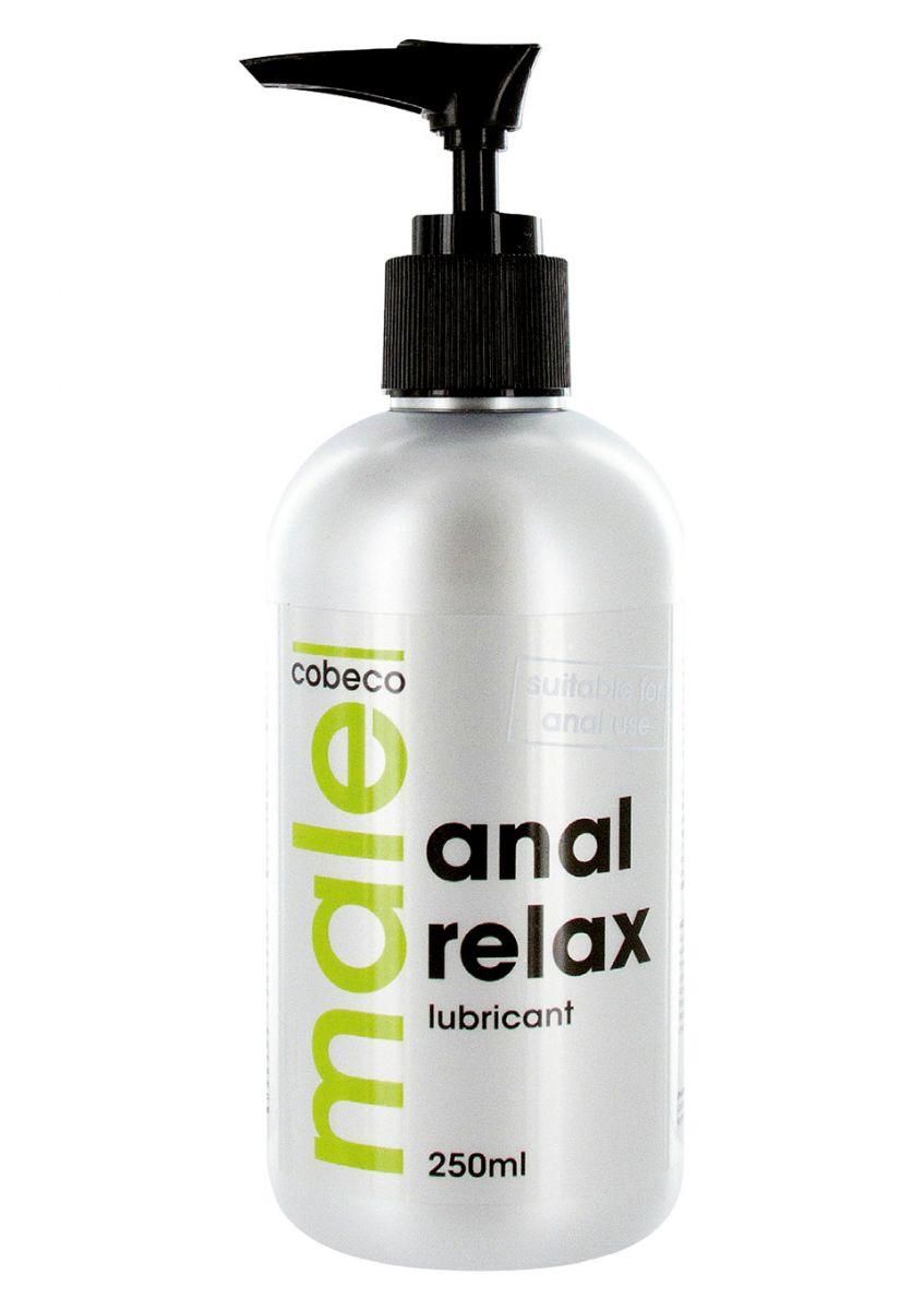Анальный лубрикант MALE Cobeco Anal Relax Lubricant - 250 мл.-