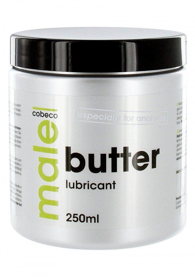 Анальный лубрикант MALE Cobeco Butter Lubricant - 250 мл.-