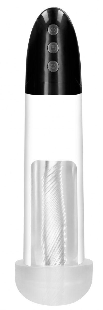 Автоматическая вакуумная помпа Rechargeable Automatic Cyber Pump with Sleeve-
