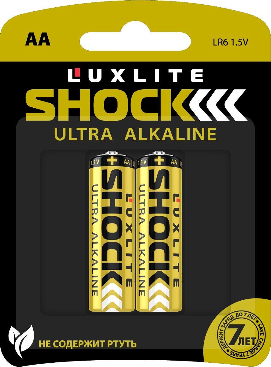 Батарейки Luxlite Shock (GOLD) типа АА - 2 шт.