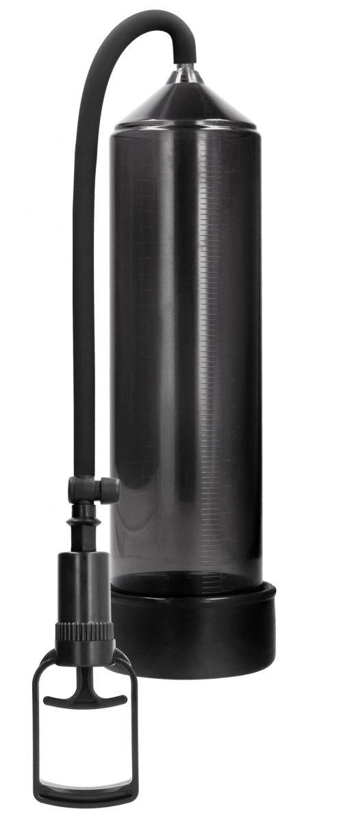 Черная вакуумная помпа с насосом в виде поршня Comfort Beginner Pump-