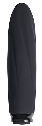 Черный мини-вибратор COMPACT VIBE ELECTRA - 11 см.