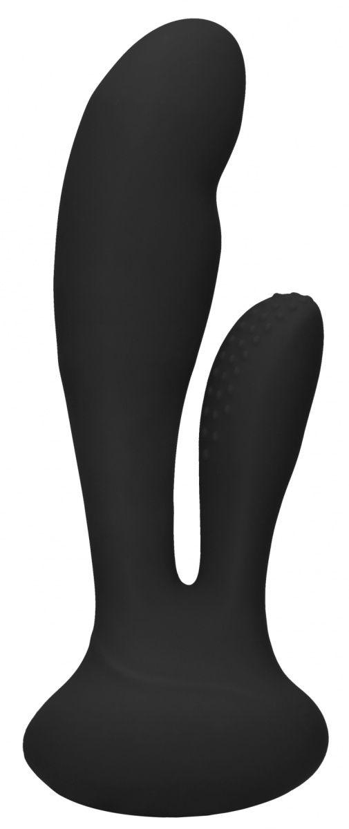 Черный вибратор G-Spot and Clitoral Vibrator Flair - 17