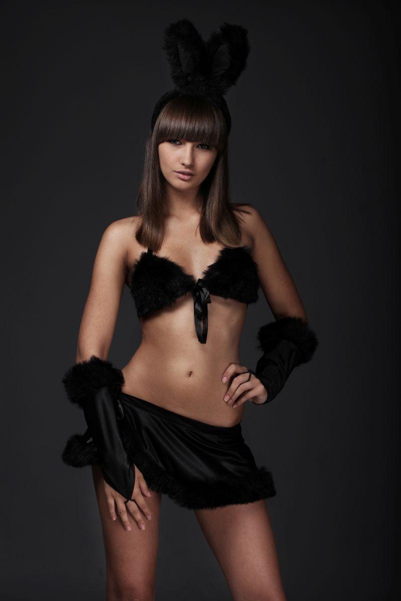 Чёрный костюм Зайка