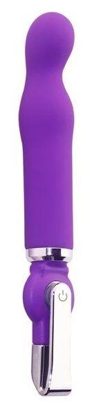 Фиолетовый вибратор ALICE 20-Function G-Spot Vibe - 18 см.