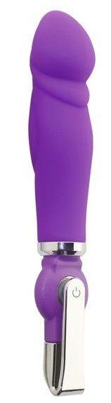 Фиолетовый вибратор ALICE 20-Function Penis Vibe - 17
