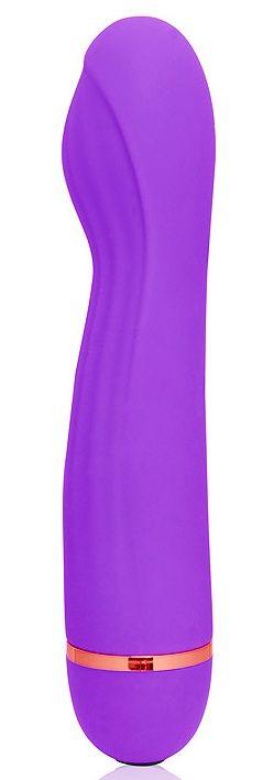 Фиолетовый вибромассажер с 20 режимами вибрации - 13