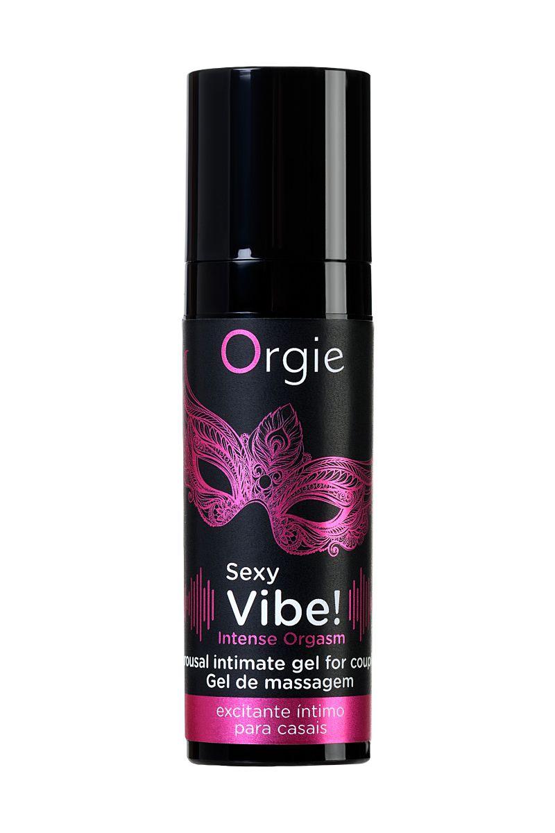 Гель для массажа ORGIE Sexy Vibe Intense Orgasm - 15 мл.-