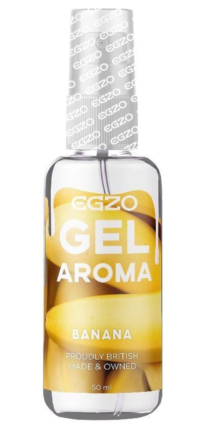 Интимный лубрикант EGZO AROMA с ароматом банана - 50 мл.-