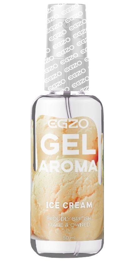 Интимный лубрикант EGZO AROMA с ароматом мороженого - 50 мл.-
