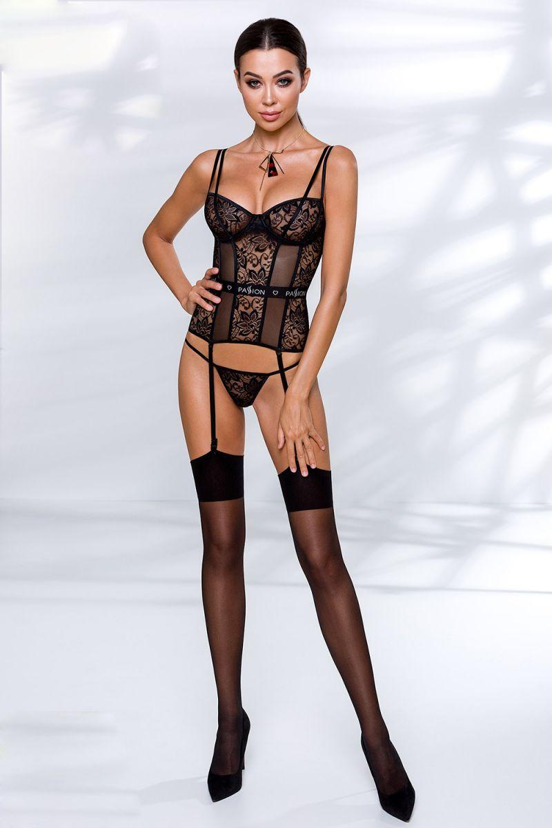 Корсет Leticia с подвязками для чулок