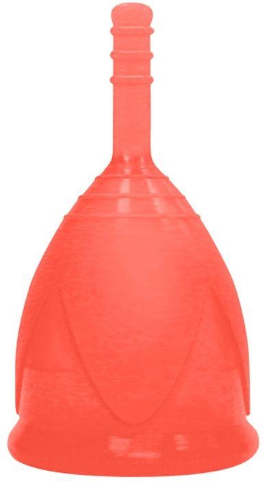 Красная менструальная чаша размера L-
