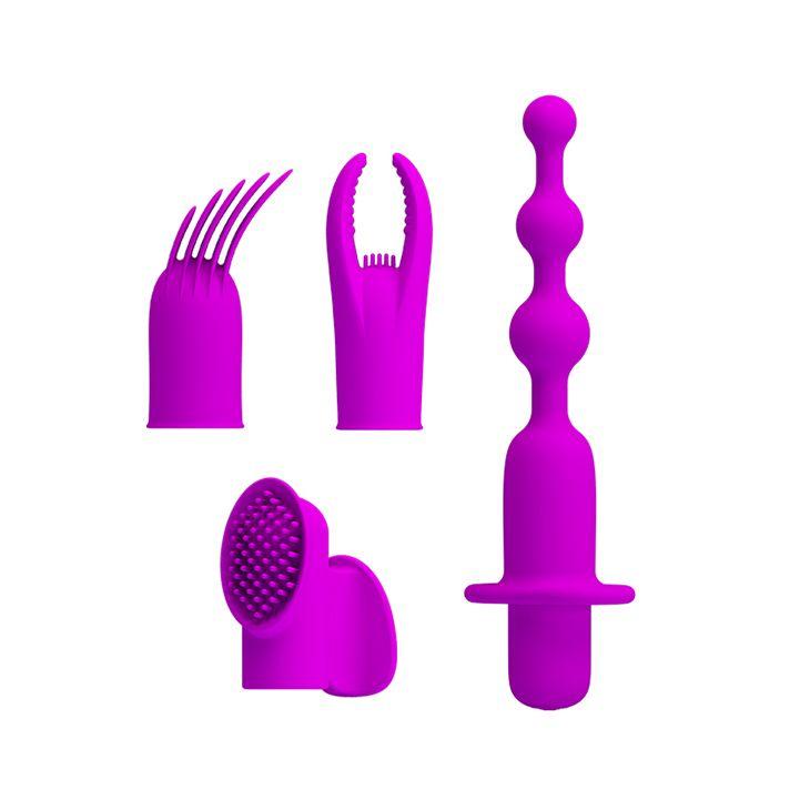 Лиловый вибронабор из 5 предметов Joys Collection-