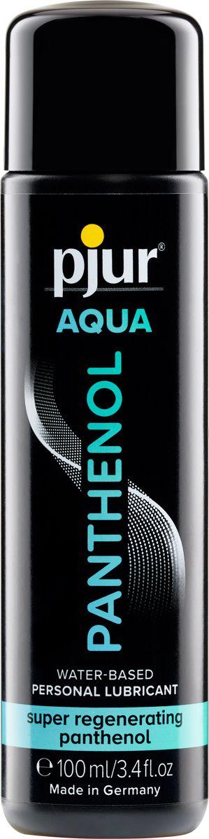 Лубрикант на водной основе с пантенолом pjur AQUA Panthenol - 100 мл.-