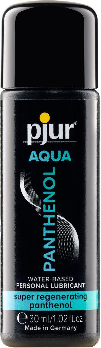 Лубрикант на водной основе с пантенолом pjur AQUA Panthenol - 30 мл.-