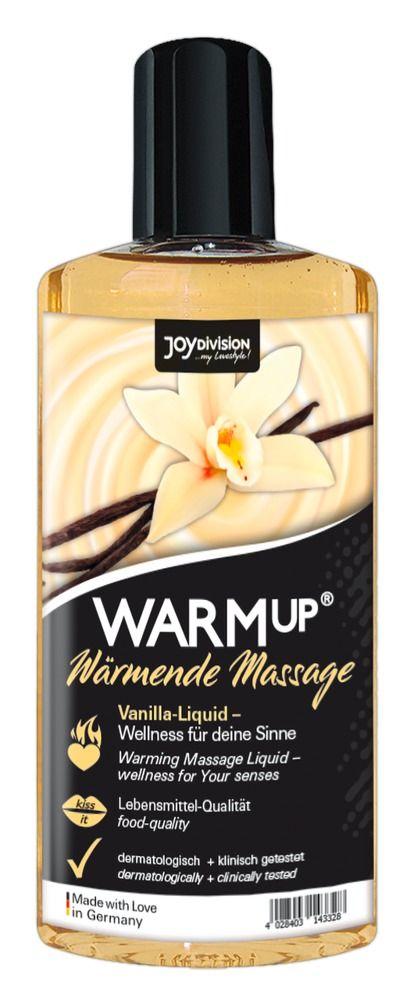 Массажное масло с ароматом ванили WARMup vanilla - 150 мл.-