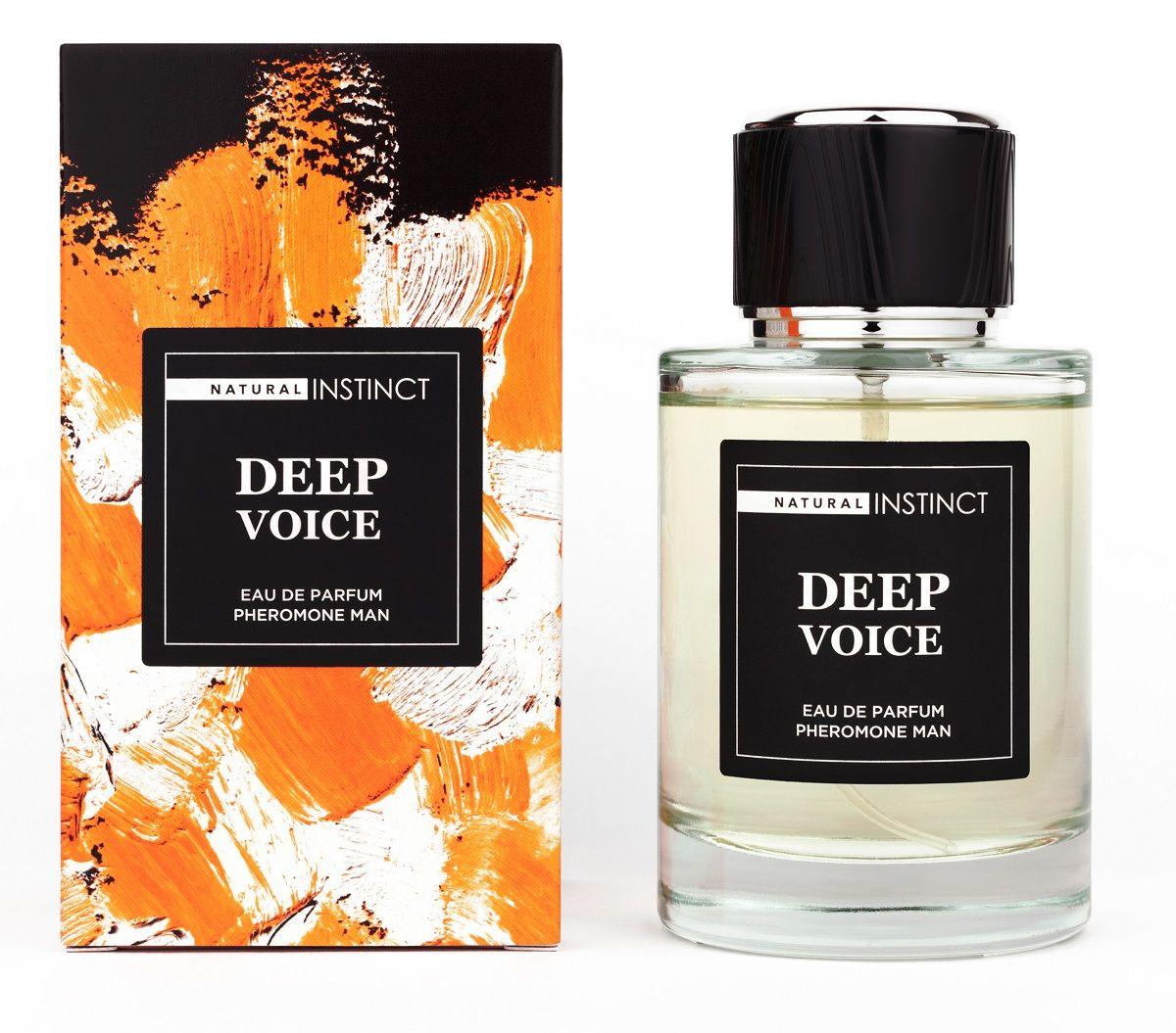 Парфюмерная вода с феромонами Deep Voice - 100 мл.-