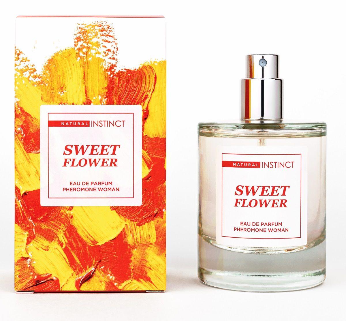Парфюмерная вода с феромонами Sweet Flower - 50 мл.-