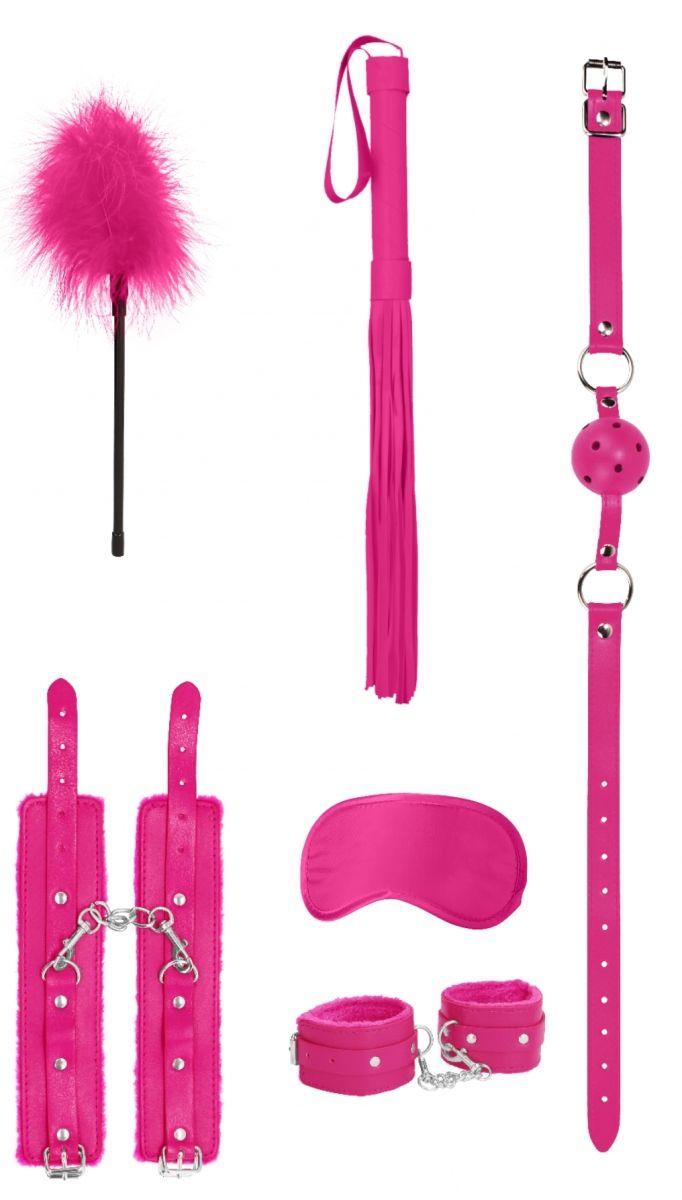 Розовый игровой набор Beginners Bondage Kit