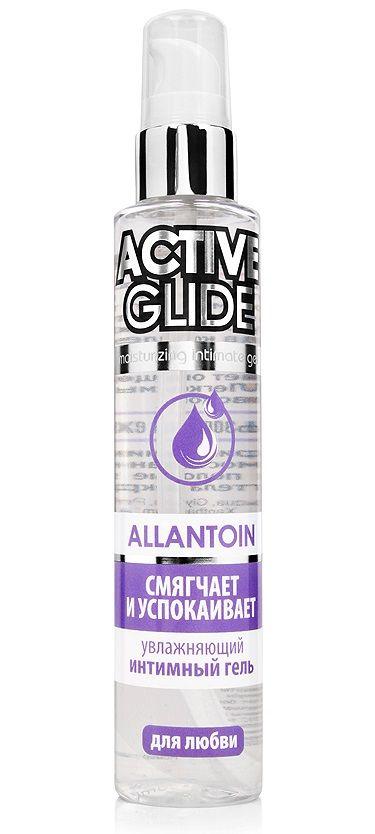 Увлажняющий интимный гель Active Glide Allantoin - 100 гр.-