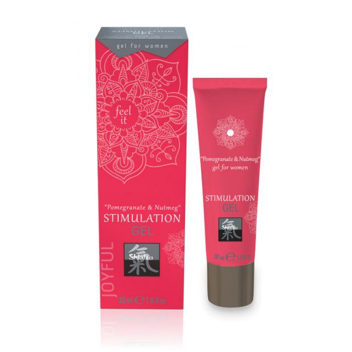 Возбуждающий интимный гель для двоих STIMULATION GEL Pomegranate Nutmeg - 30 мл.-