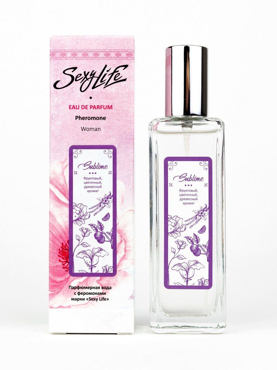 Женская парфюмерная вода с феромонами Sexy Life Sublime - 30 мл.-