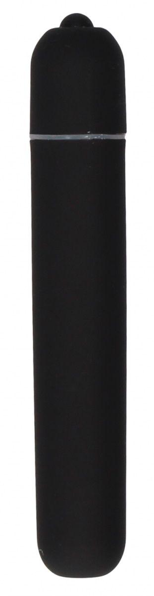 Черная вибропуля Bullet Vibrator Extra Long - 10
