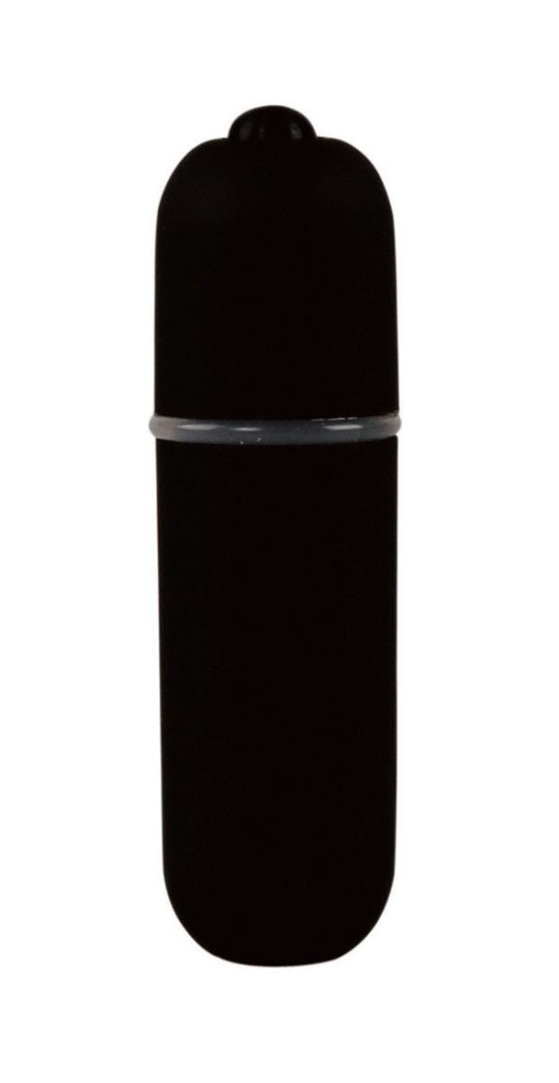 Черная вибропуля Power Bullet - 6