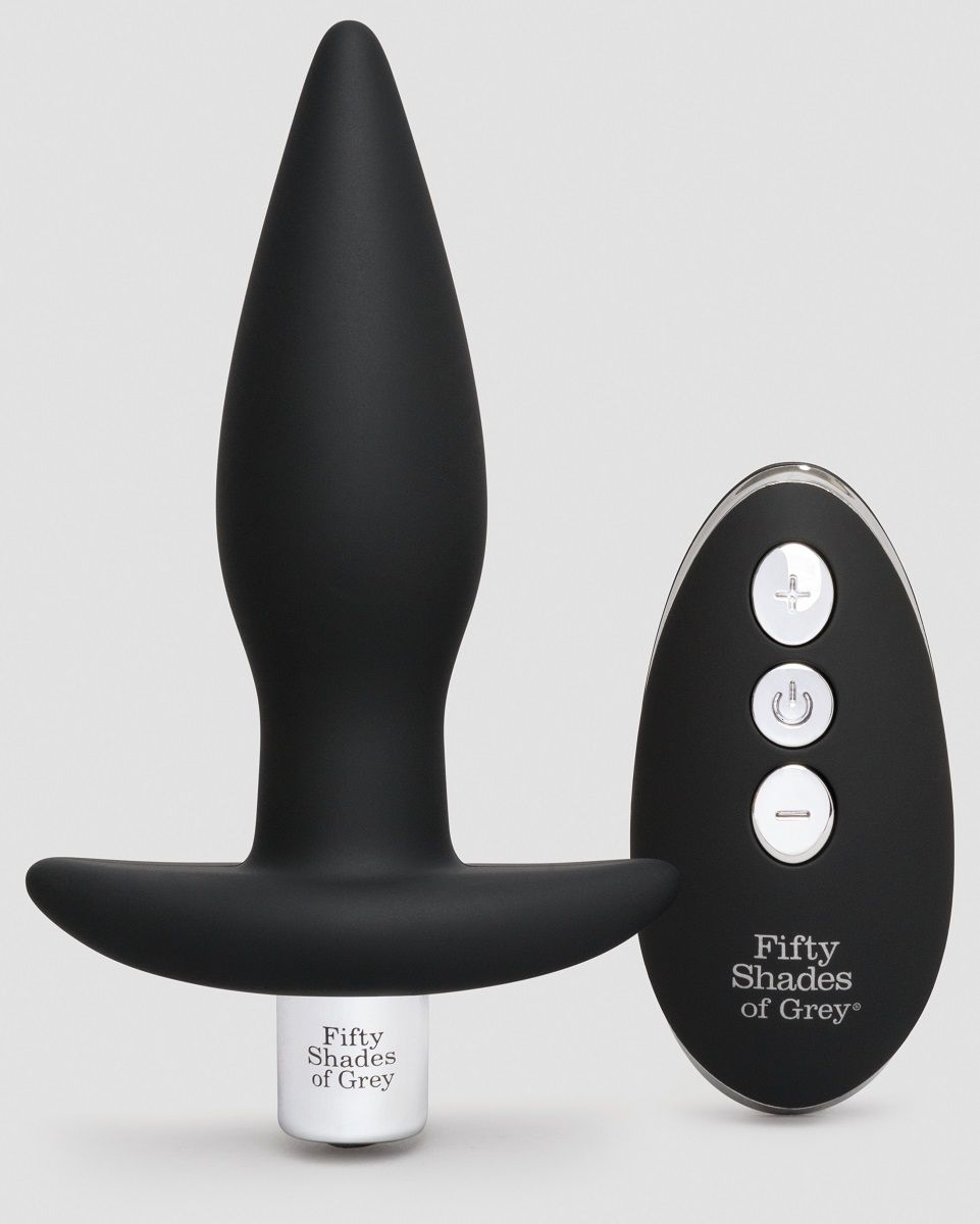 Черная вибровтулка Relentless Vibrations Remote Control Butt Plug - 11