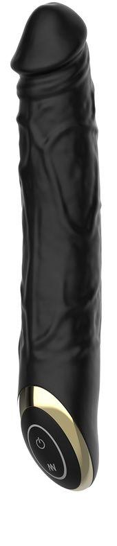 Черный вибратор-реалистик Terry - 21