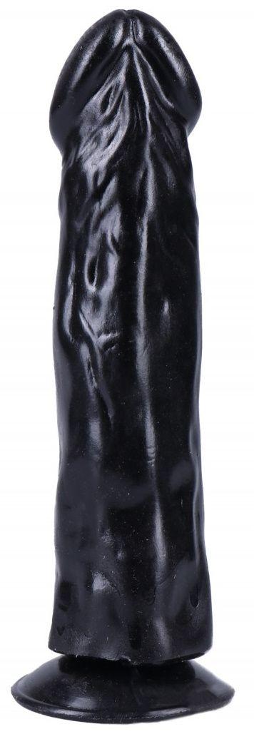 Черный вибратор-реалистик на присоске №27 - 19