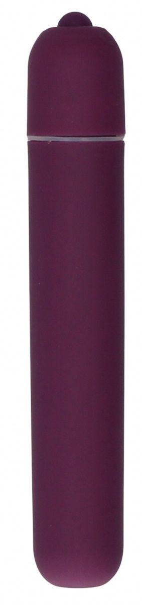 Фиолетовая вибропуля Bullet Vibrator Extra Long - 10