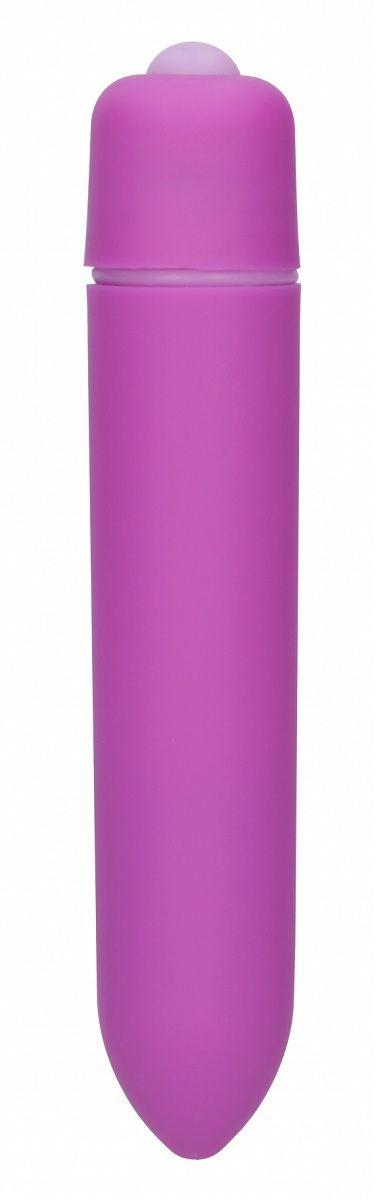Фиолетовая вибропуля Speed Bullet - 9