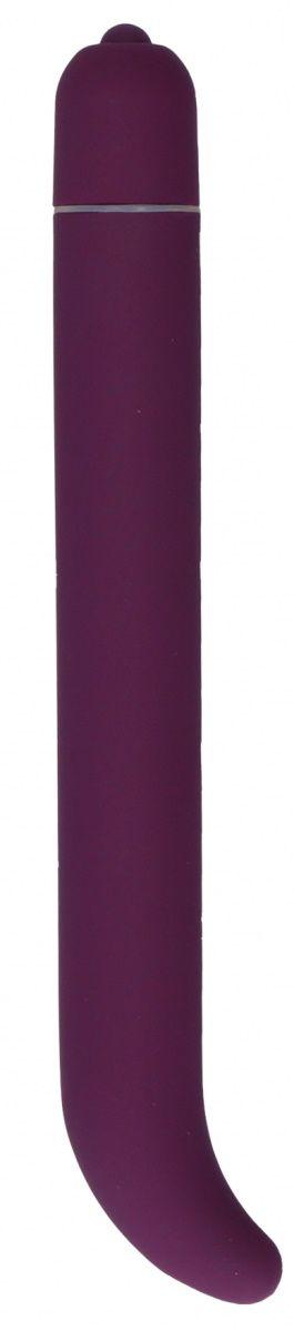 Фиолетовый компактный вибростимулятор G-Spot Vibrator - 16 см.