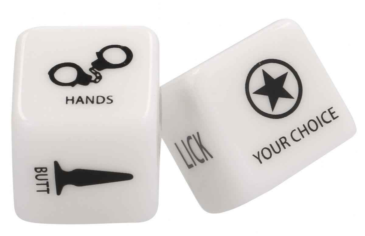 Игральные кубики BDSM Naughty Dice