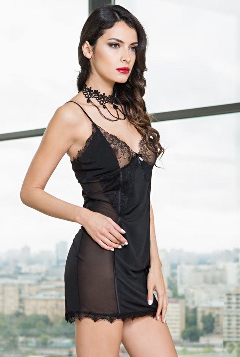 Изысканная кружевная сорочка Glamour