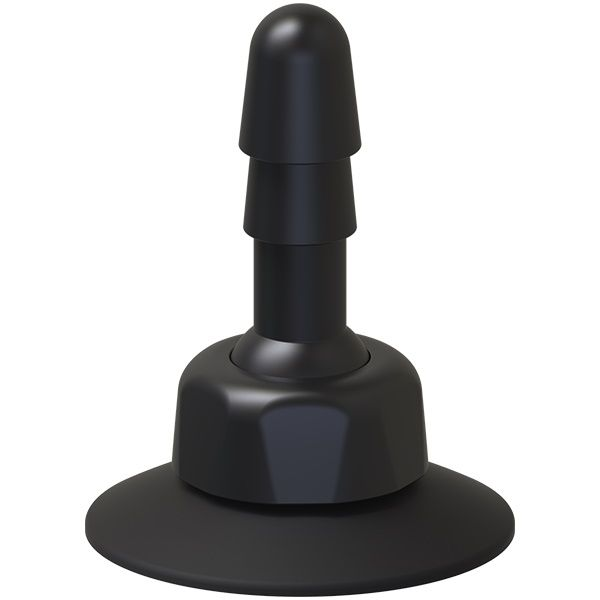Плаг с присоской для фиксации насадок Deluxe 360° Swivel Suction Cup Plug