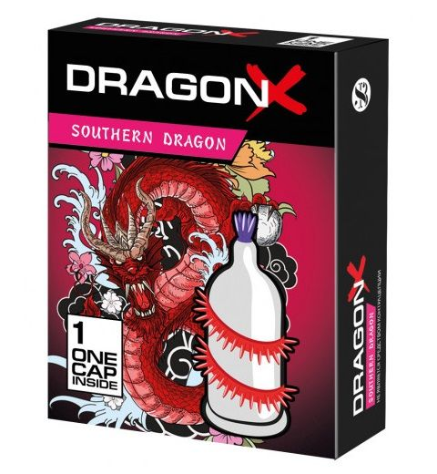Презерватив Sitabella Dragon SOUTHERN с усиками