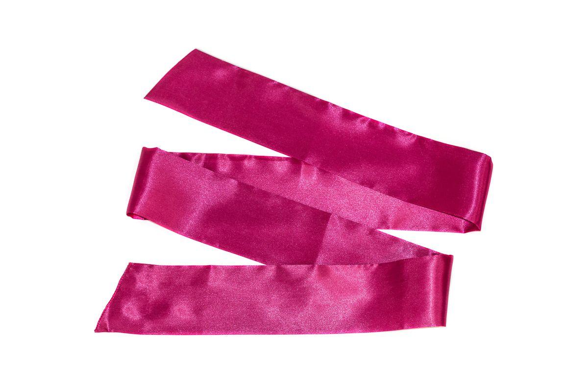 Розовая лента для связывания Wink - 152 см.