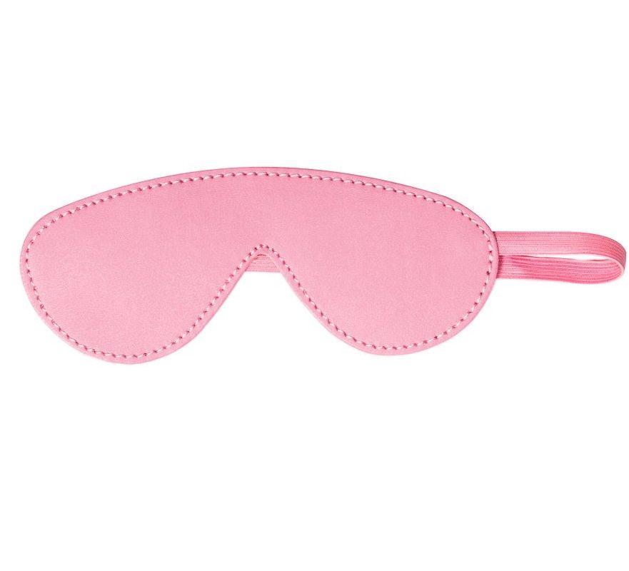 Розовая маска Shy