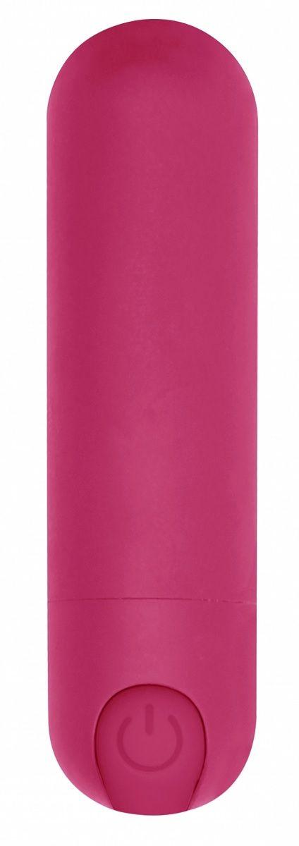 Розовая перезаряжаемая вибропуля 7 Speed Rechargeable Bullet - 7