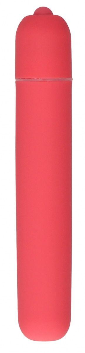 Розовая вибропуля Bullet Vibrator Extra Long - 10