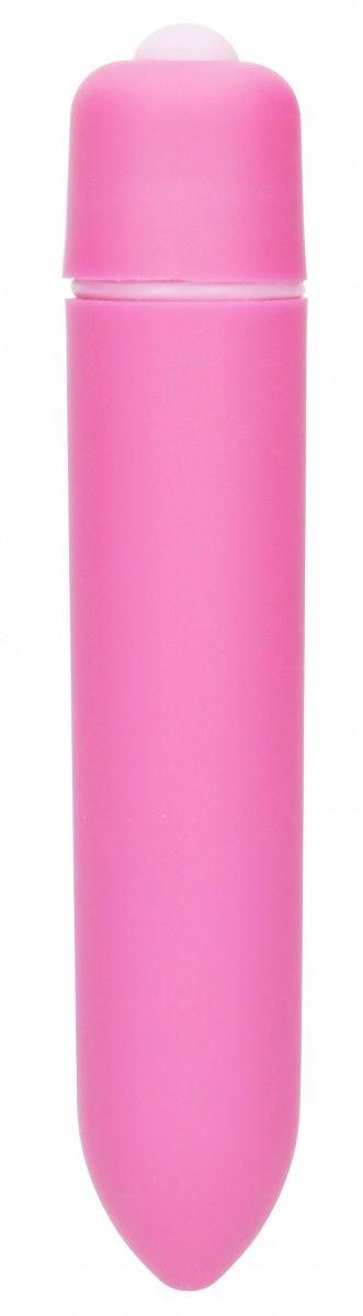 Розовая вибропуля Speed Bullet - 9